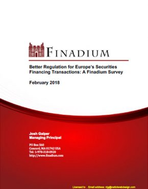 Better Regulation for Europe's Securities Financing Transactions: A Finadium Survey