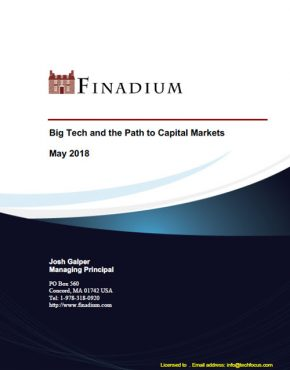 Big Tech and the Path to Capital Markets